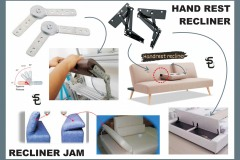 RECLINER HAND REST